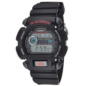 G-Shock Casio watch matte black and red BRAND NEW